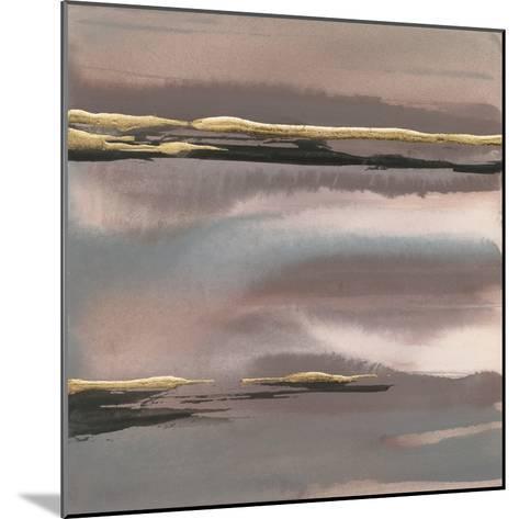 Gilded Morning Fog I-Chris Paschke-Mounted Art Print