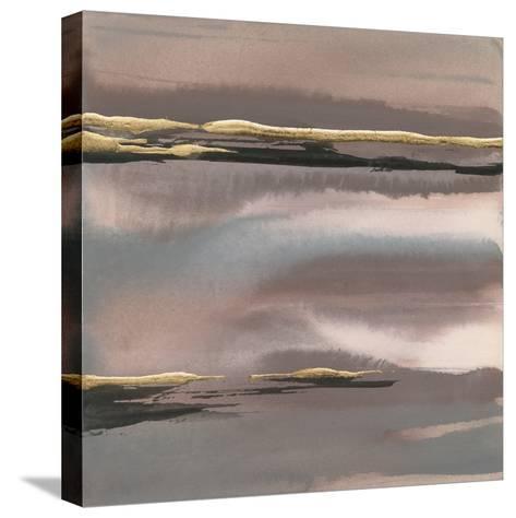 Gilded Morning Fog I-Chris Paschke-Stretched Canvas Print