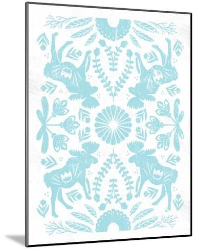 Otomi Moose Pastel-Cleonique Hilsaca-Mounted Art Print