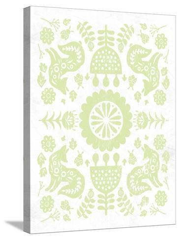 Otomi Fox Pastel-Cleonique Hilsaca-Stretched Canvas Print