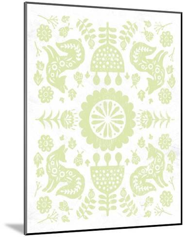 Otomi Fox Pastel-Cleonique Hilsaca-Mounted Art Print