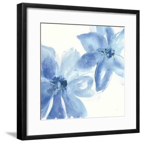 Cobalt Clematis II-Chris Paschke-Framed Art Print