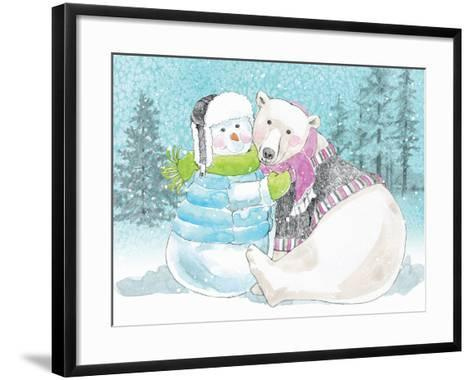 Polar Cap Friends III-Beth Grove-Framed Art Print