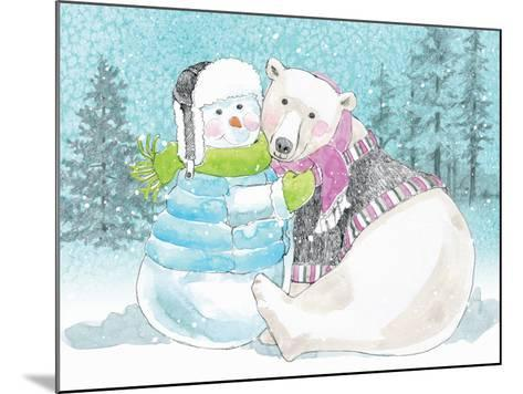 Polar Cap Friends III-Beth Grove-Mounted Art Print