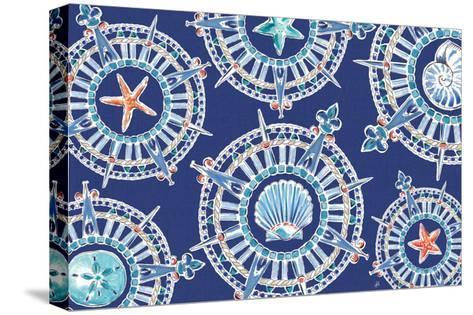 Maritime XIV-Daphne Brissonnet-Stretched Canvas Print