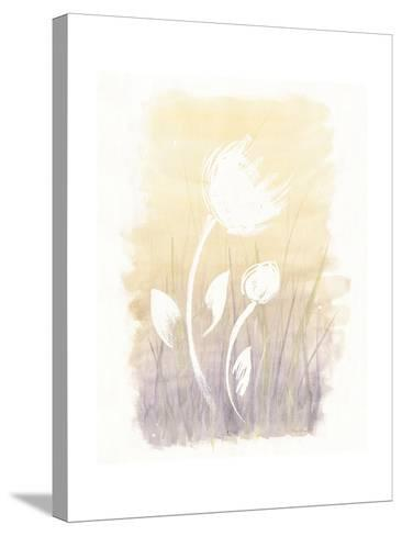 Floral Silhouette I-Elyse DeNeige-Stretched Canvas Print