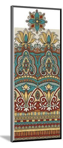 Spice Route Elephant Border-Daphne Brissonnet-Mounted Art Print