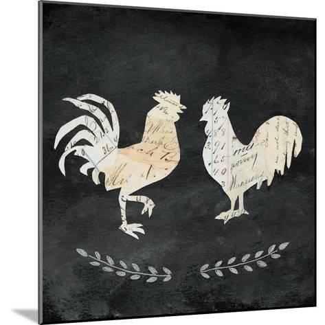 Le Coq Cameo Sq no Words-Courtney Prahl-Mounted Art Print