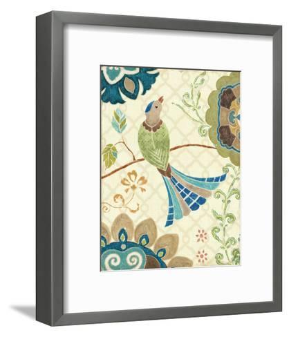 Eastern Tales Bird IV-Daphne Brissonnet-Framed Art Print