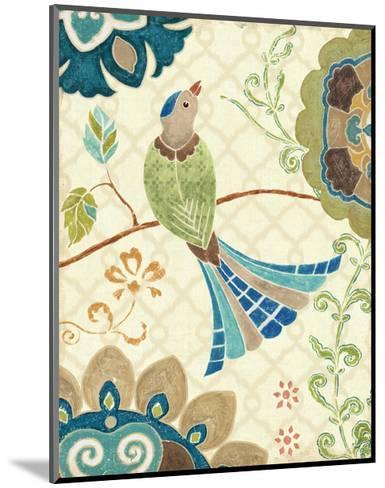 Eastern Tales Bird IV-Daphne Brissonnet-Mounted Art Print