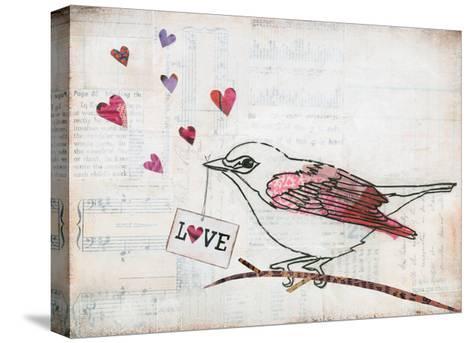 Love Birds II Love-Courtney Prahl-Stretched Canvas Print
