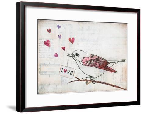 Love Birds II Love-Courtney Prahl-Framed Art Print