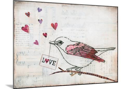 Love Birds II Love-Courtney Prahl-Mounted Art Print