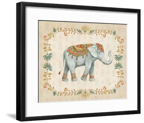 Elephant Walk II-Daphne Brissonnet-Framed Art Print