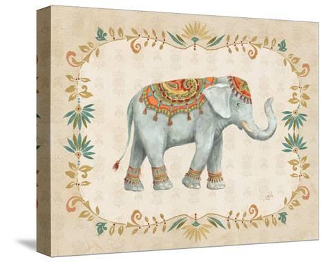 Elephant Walk II-Daphne Brissonnet-Stretched Canvas Print