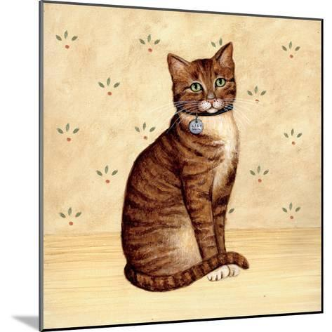 Country Kitty IV-David Cater Brown-Mounted Art Print