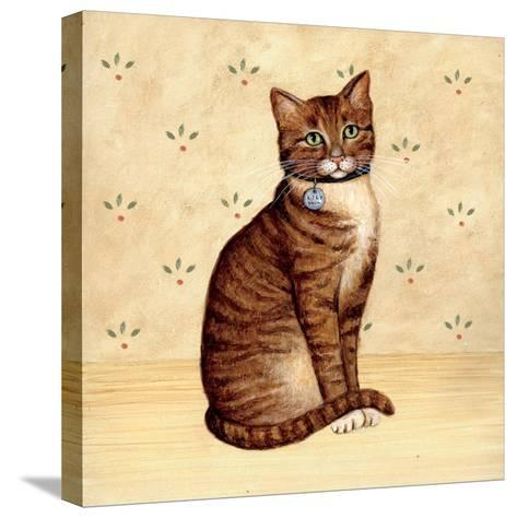 Country Kitty IV-David Cater Brown-Stretched Canvas Print