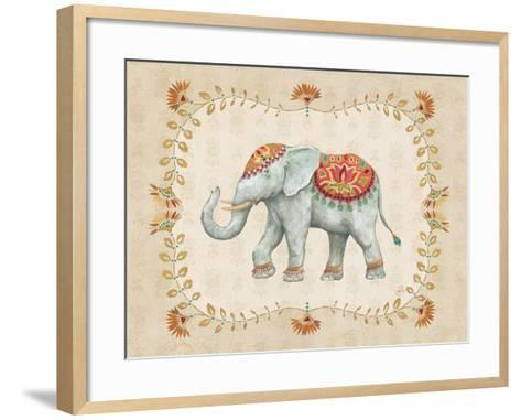 Elephant Walk V-Daphne Brissonnet-Framed Art Print