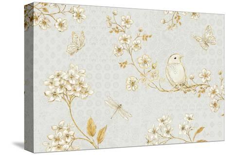 Golden Garden I-Daphne Brissonnet-Stretched Canvas Print