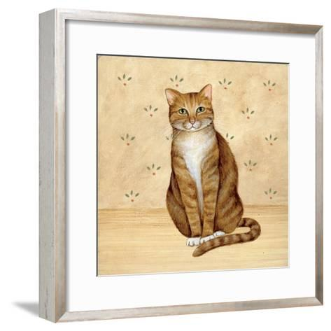 Country Kitty II-David Cater Brown-Framed Art Print