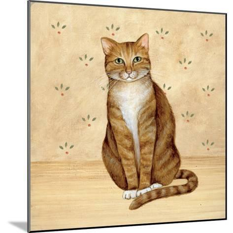 Country Kitty II-David Cater Brown-Mounted Art Print