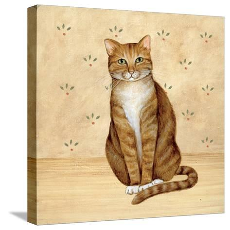 Country Kitty II-David Cater Brown-Stretched Canvas Print