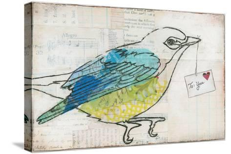 Love Birds III-Courtney Prahl-Stretched Canvas Print