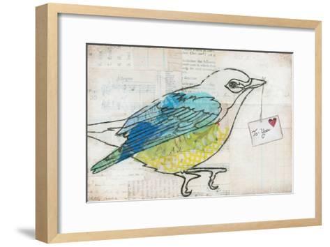 Love Birds III-Courtney Prahl-Framed Art Print