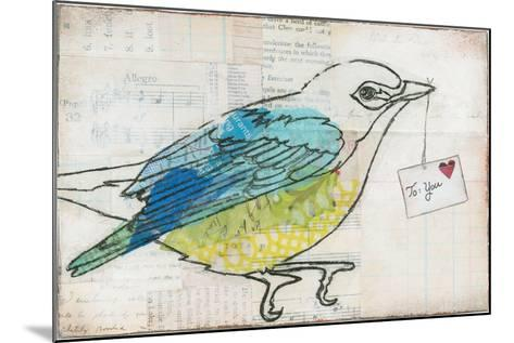 Love Birds III-Courtney Prahl-Mounted Art Print