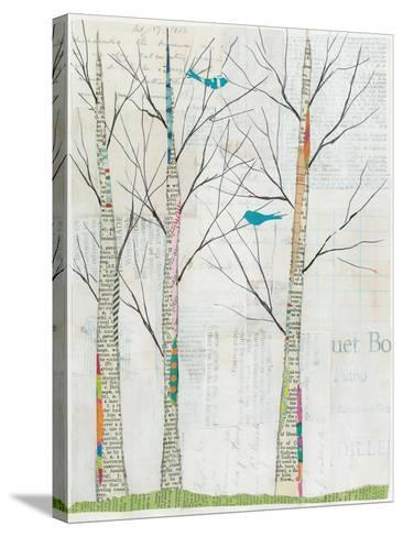 Two Birds-Courtney Prahl-Stretched Canvas Print