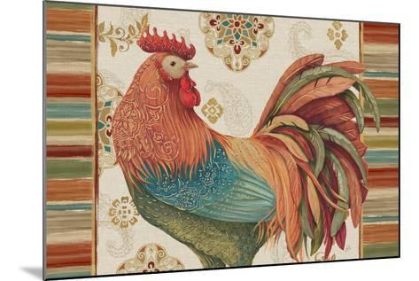 Rooster Rainbow IA-Daphne Brissonnet-Mounted Art Print