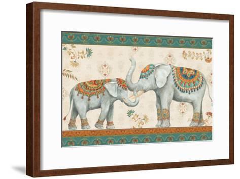 Elephant Walk I-Daphne Brissonnet-Framed Art Print