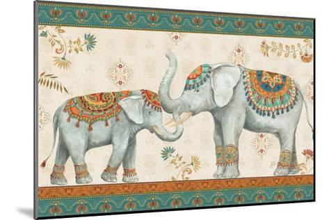 Elephant Walk I-Daphne Brissonnet-Mounted Art Print
