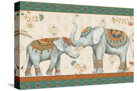Elephant Walk I-Daphne Brissonnet-Stretched Canvas Print
