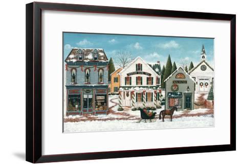 Christmas Village I-David Cater Brown-Framed Art Print