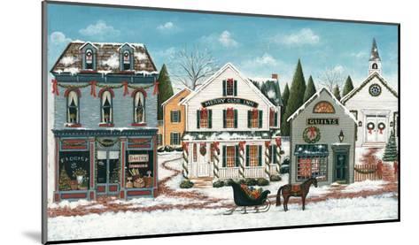 Christmas Village I-David Cater Brown-Mounted Art Print