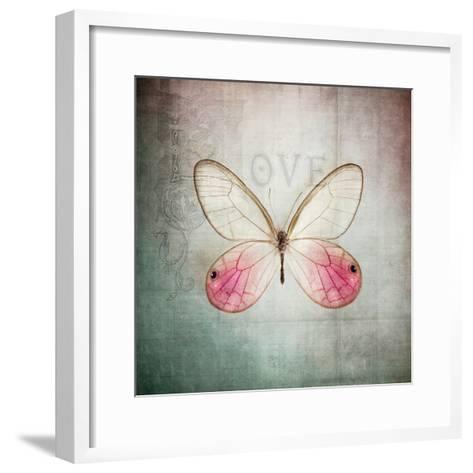 French Butterfly I-Debra Van Swearingen-Framed Art Print