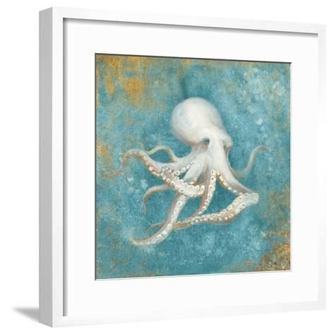 Treaures from the Sea V Aqua-Danhui Nai-Framed Art Print