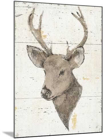 Wild and Beautiful II with Brown-Daphne Brissonnet-Mounted Art Print