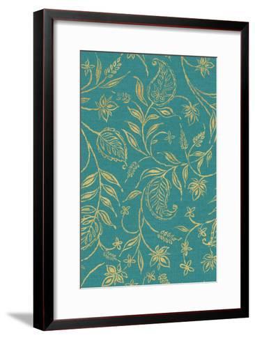 Paisley Trail III Patterns-Daphne Brissonnet-Framed Art Print