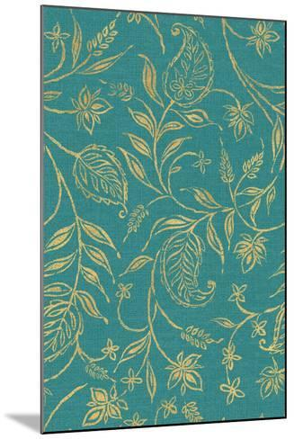 Paisley Trail III Patterns-Daphne Brissonnet-Mounted Art Print