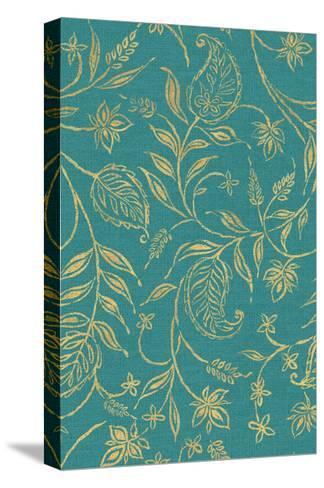 Paisley Trail III Patterns-Daphne Brissonnet-Stretched Canvas Print