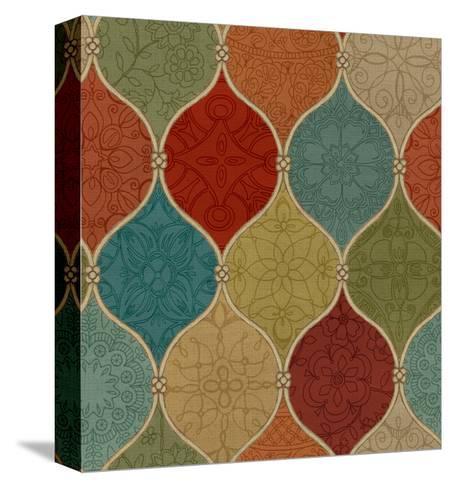Spice Mosaic Pattern Crop-Daphne Brissonnet-Stretched Canvas Print