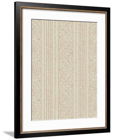 Batik III Patterns-Daphne Brissonnet-Framed Art Print