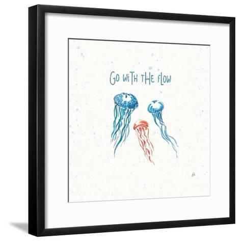 Maritime II-Daphne Brissonnet-Framed Art Print