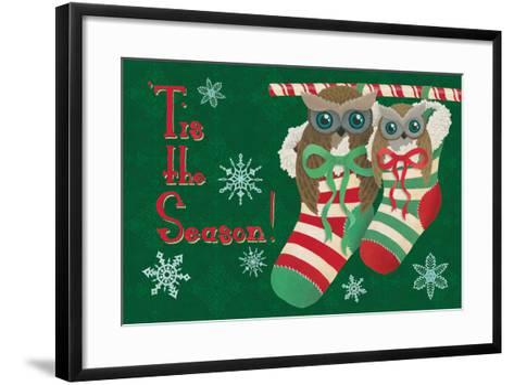 Christmas Parliament II-Elyse DeNeige-Framed Art Print