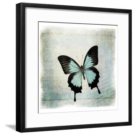 Floating Butterfly III-Debra Van Swearingen-Framed Art Print