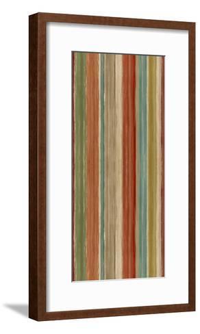 Mumbai Rainbow Stripes-Daphne Brissonnet-Framed Art Print