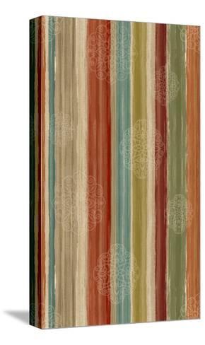 Mumbai Rainbow II Crop-Daphne Brissonnet-Stretched Canvas Print