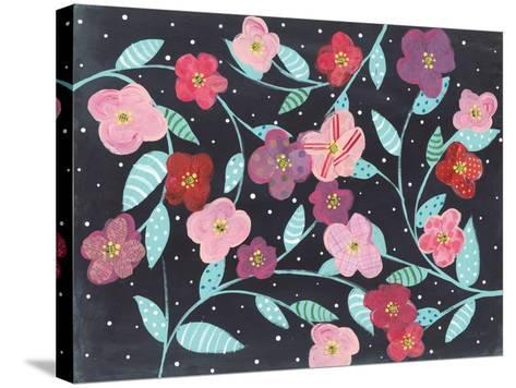 Wall Flowers-Courtney Prahl-Stretched Canvas Print